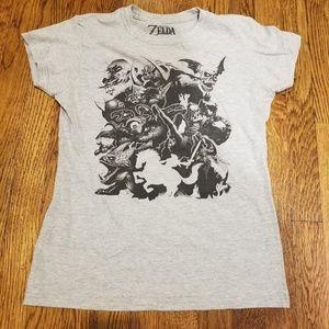 Nintendo Legend of Zelda Baddies womens Shirt